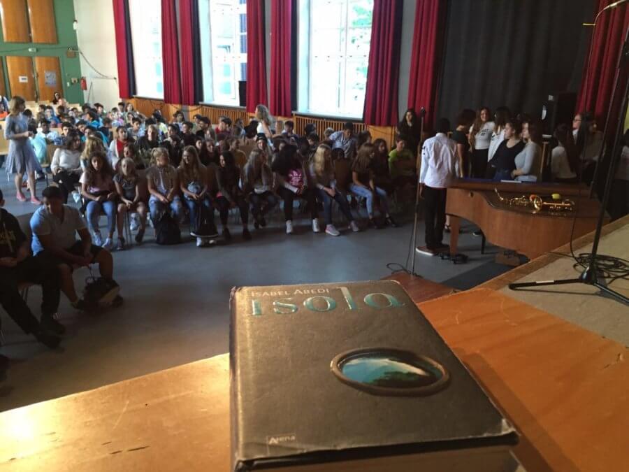 "Musixx ist Teil des ""Isola""-Projekts an der Stadtteilschule Barmbek"
