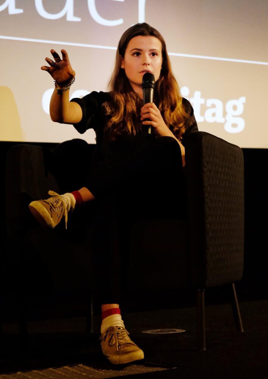 Luisa Neubauer über Musixx-Hamburg: